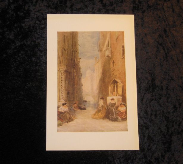 Holland, vintage lithograph, LTD, actually printed in 1940