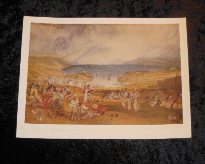 Turner, vintage print, actually printed in 1940