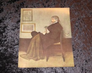Whistler, vintage lithograph, actually printed in 1912