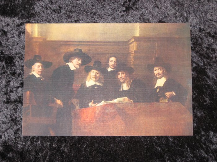 Rembrandt, vintage lithograph, actually printed in 1912