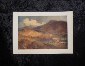 Cotman, limited vintage lithograph, actually printed in 1940