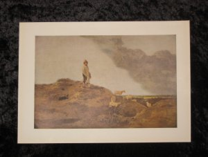 Crome, limited vintage lithograph, actually printed in 1940