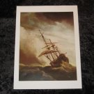 Willem van de Velde; the Younger, new nautical print, 12""