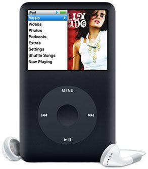 Apple 160GB iPod classic � Black