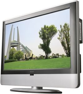 """MINTEK DTV-373-D 37"""""""" LCD TV WITH BUILT-IN DVD PLAYER"""