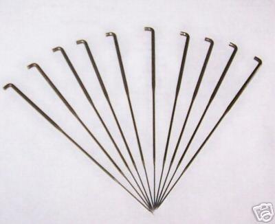 10 #40 Felting Needles for Wool or Doll Repair