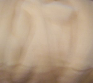 "48"" Honey Dyed Corriedale Wool Spinning Felt Fiber"