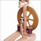 New Unfinished Ashford Kiwi 2 Spinning Wheel Free Bobbins & Free Ship
