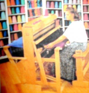 "New Harrisville 36"" 8 Harness Floor Loom & Studio Package Free Shipping"