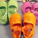 """kona"" kids clogs lady bug design  wholesale lot 12 sizes 8-13"