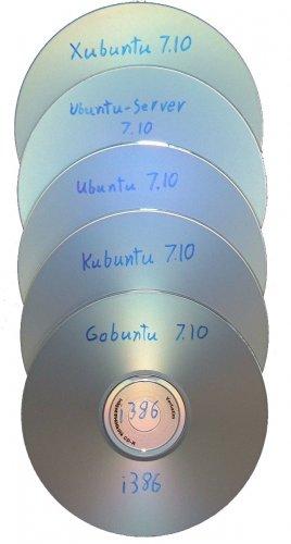 Ubuntu 5-disk Mega pack