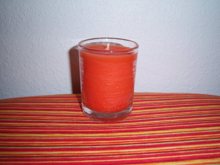 Votive Candle with Wick-Mango