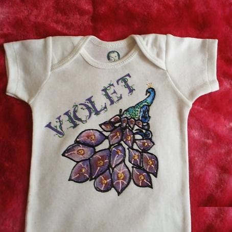 Baby Onesie Girl Customized Name 0-3 months