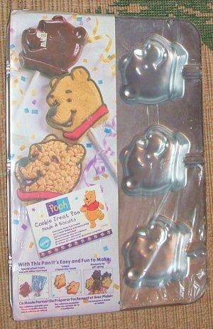 NEW Wilton Mini Treat Lollipop pan - Pooh