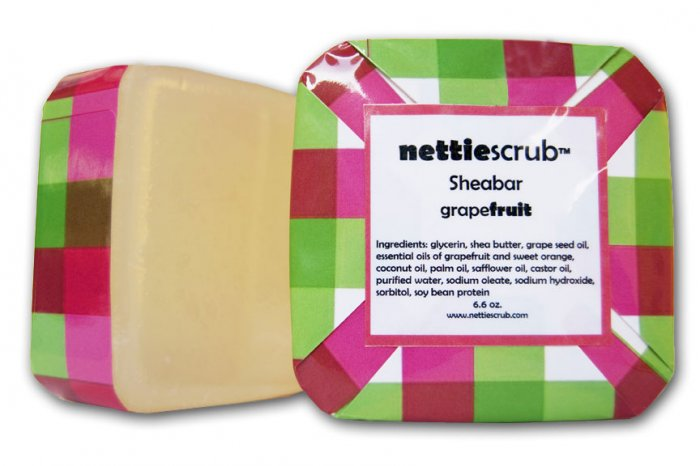 NEW grapefruit Sheabar soap