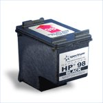 Remanufactured Black Ink Cartridge - replaces HP® C9364WN (HP 98)