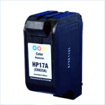Remanufactured Color Ink Cartridge - replaces HP C6625AN (HP 17) - get two for the price of one -