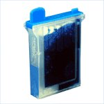 Brother Compatible - LC02C Cyan Ink Cartridge get two for $9.98