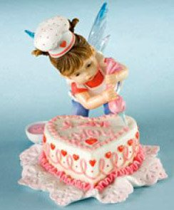 Kitchen Fairy - I Love You Valentine Cake