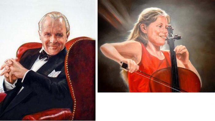 Photograpy PORTRAIT SERVICE Oil Painting 1 Person 20x24