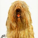 ♥ Original Oil DOG Portrait Painting Art KOMONDOR ♥