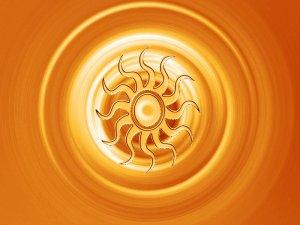Sun Metallic Orange 8X10