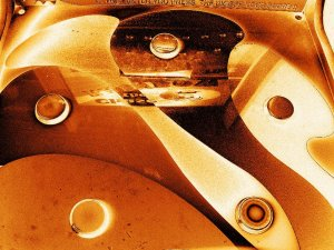 Metallic Buttons 8X10