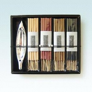 36 Pc Incense Set w/Holder