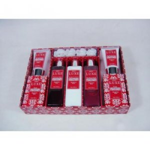 Shanti 8 Piece Bath Gift Set Bergamot Rose