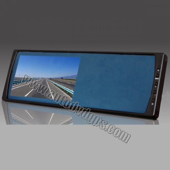 """6"""" Rrectangle Rearview Mirror Monitor"""