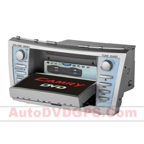 Dual-Zone Car DVD GPS Radio For Toyota Camry