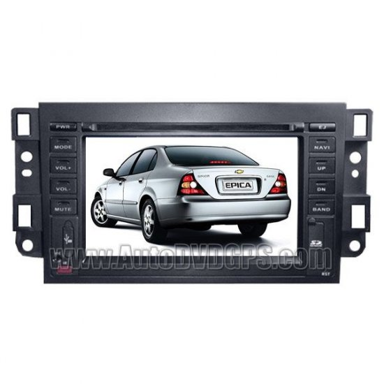 """Car DVD GPS player with 7"""" LCD touchscreen for Chevrolet Epica Captiva Lova"""