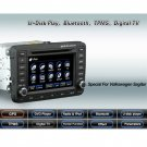 Advanced & High Quality 2 Din Car DVD GPS Player for VW SAGITAR + IPOD ready Bluetooth