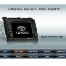 Advanced & High Quality Car DVD GPS Player for Toyota Prado + IPOD ready Bluetooth