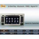 Advanced & High Quality Car DVD GPS Player for Toyota Reiz + IPOD ready Bluetooth