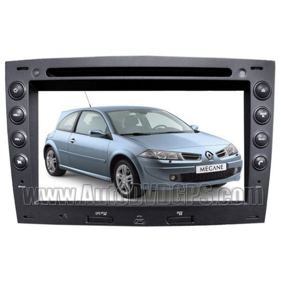 """Renault Megane Car DVD GPS player with 7"""" Digital touchscreen + iPod Bluetooth RDS"""