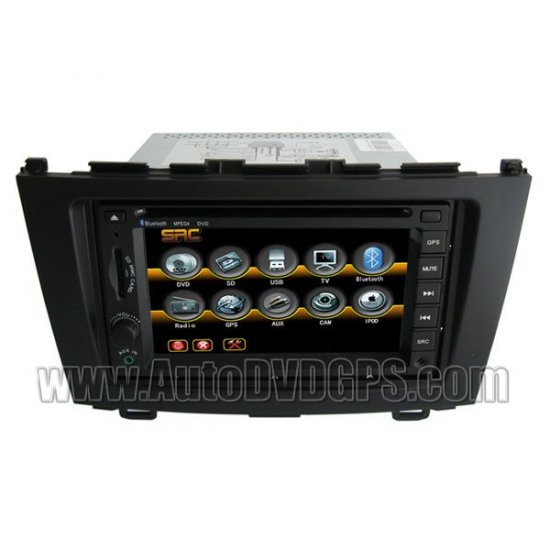 Cheap Special Car DVD Video Audio player with indash GPS Navigation for Honda CR-V