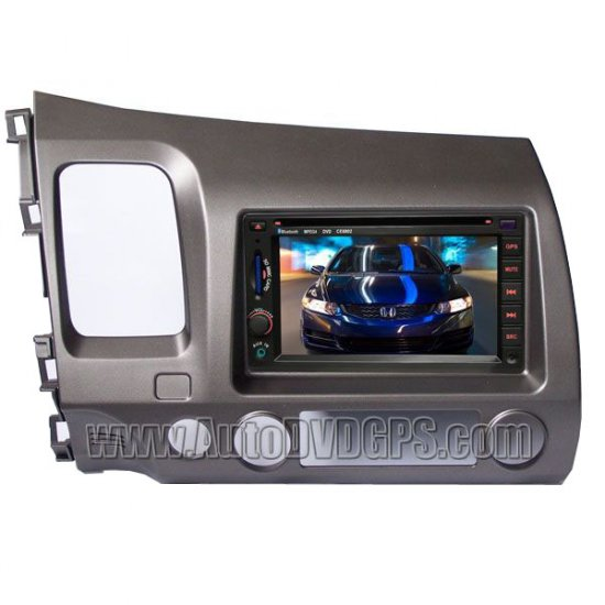 Honda Civic Car DVD Video Audio Radio player with built-in GPS navigation