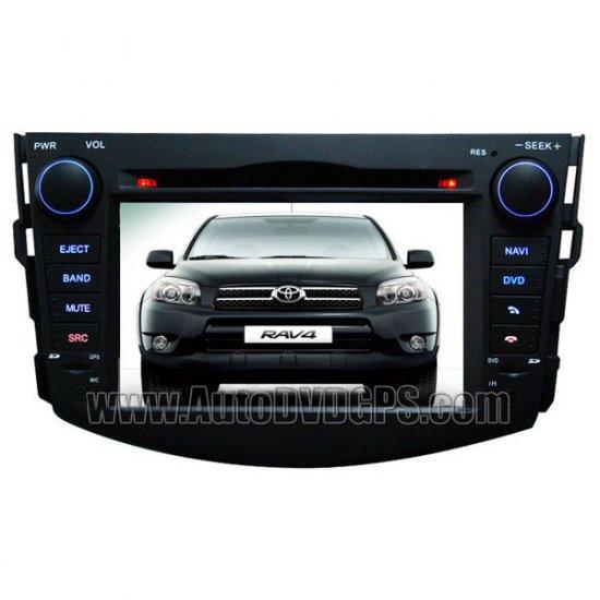 "Toyota RAV4 DVD GPS Navigation player with 7"" Digital HD touchscreen Bluetooth RDS"