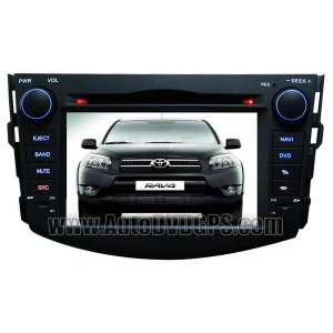 "Toyota RAV4 DVD GPS Navigation player with 7"" Digital HD touchscreen Bluetooth RDS"