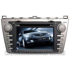 Car DVD player with indash GPS naivgation and touchscreen bluetooth for Mazda 6