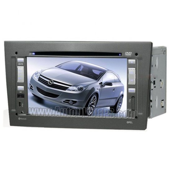 """Opel Astra Car DVD stereo radio player with GPS navigation and 7"""" LCD touchscreen"""