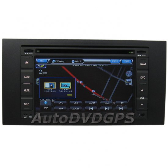 Focus 2005-2007 C-Max S-Max Galaxy GPS Navigation DVD Digital Panel Blueooth iPod RDS PIP