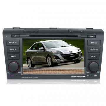 Newest Car DVD Player for MAZDA3 w/ Built-in GPS Receiver