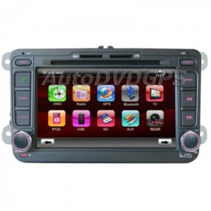 "Factory OEM Headunit for VW CADDY Life +DVD GPS + 7"" Digital Touchscreen Bluetooth RDS iPOD"