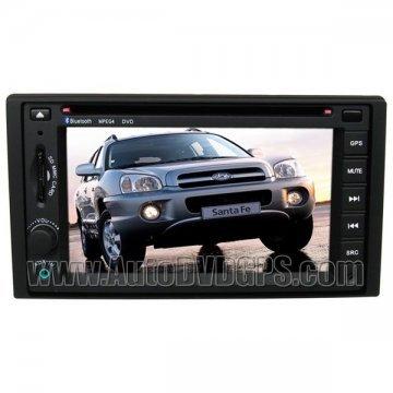2008 Hyundai Santa Fe Navigation system