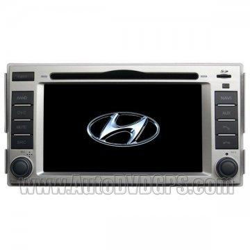 Car DVD player for New Hyundai Santa Fe + built-in GPS Navigation