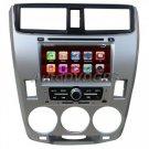 "Honda CITY 2009 OEM Autoradio DVD GPS Navigation + 7"" HD digital touch screen BT iPOD RDS"