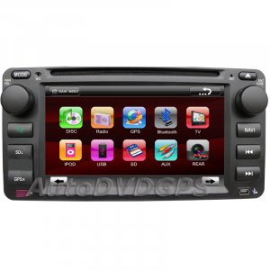 Autoradio for Toyota Land Cruiser +GPS navigation DVD Player + HD Digital Panel BT RDS iPOD win CE 6