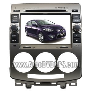 Factory OEM Radio for MAZDA 5 +GPS DVD RDS iPOD TV
